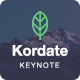 Kordate - Modern and Professional Keynote Template - GraphicRiver Item for Sale