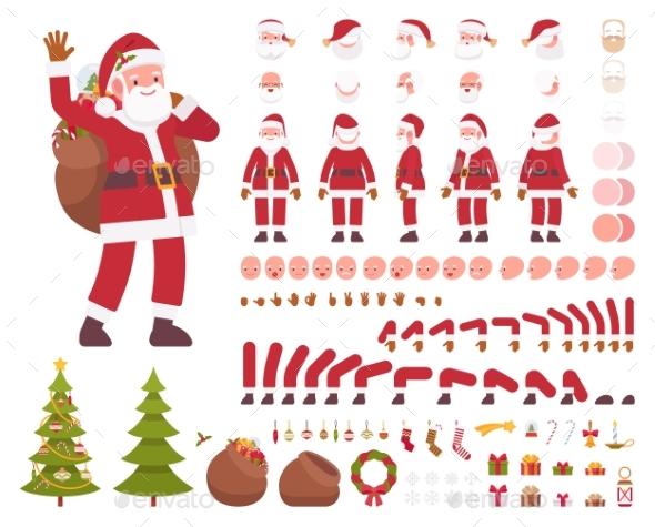 Santa Claus Character Creation Set