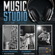 Music Studio 4 Flyer/Poster - GraphicRiver Item for Sale