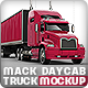 Semi-Trailer Truck Mock-up Based Mack Pinnacle - GraphicRiver Item for Sale