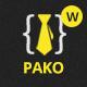 Pako Minimal Portfolio WordPress Theme - ThemeForest Item for Sale