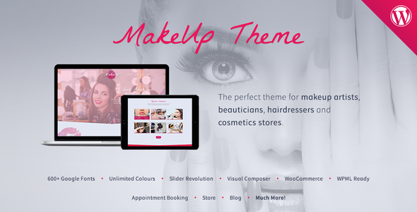 MakeUp | Beauty WordPress Theme