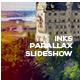 Inks Parallax Slideshow