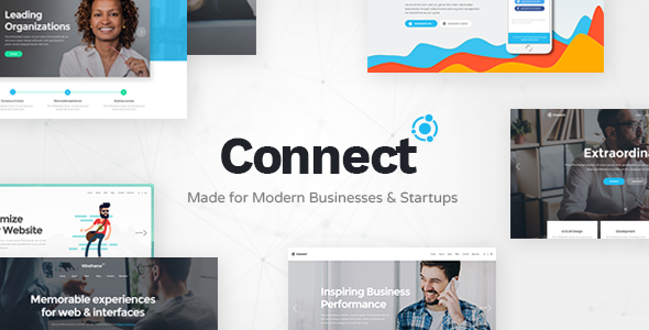 Connect - Startup Business Theme