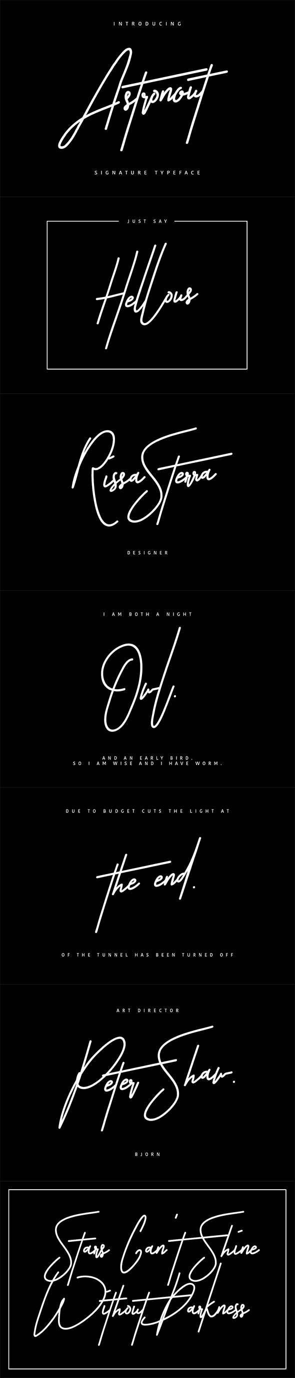 Script Fonts from GraphicRiver
