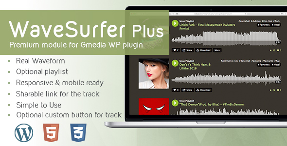Mp3 Player Plugins, Code & Scripts from CodeCanyon