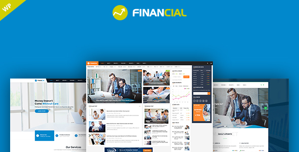 Financial - Business & Consulting WordPress Theme