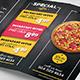 Pizza Restaurant Menu Flyer - GraphicRiver Item for Sale