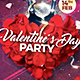 Valentines Day Party Template - GraphicRiver Item for Sale