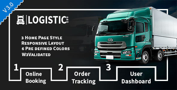 Review: Logistic Pro - Transport - Cargo - Online Tracking - Booking & Logistics Services free download Review: Logistic Pro - Transport - Cargo - Online Tracking - Booking & Logistics Services nulled Review: Logistic Pro - Transport - Cargo - Online Tracking - Booking & Logistics Services