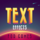 Text Effects For Games 2 - GraphicRiver Item for Sale