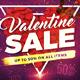 Valentine Sale Template - GraphicRiver Item for Sale