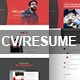 CV/Resume PSD Template - ThemeForest Item for Sale