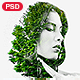 Bi Exposure Photoshop Template - GraphicRiver Item for Sale