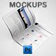 Photorealistic US Letter Brochure Mock-Ups - GraphicRiver Item for Sale