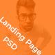 Landing Page / Portfolio PSD Template - ThemeForest Item for Sale