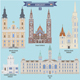 Famous Places in Hungary - GraphicRiver Item for Sale