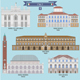 Famous Places in Italy - GraphicRiver Item for Sale