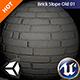 PBR Brick Slope Old 01 Texture - 3DOcean Item for Sale