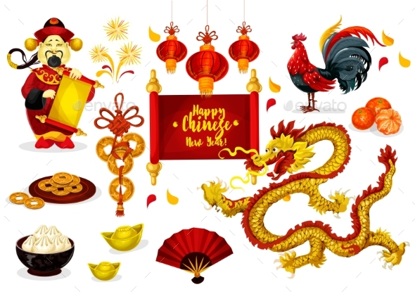 Chinese New Year Greeting Poster Design