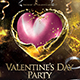 Valentines Day Party Flyer Template - GraphicRiver Item for Sale