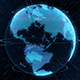 World Sphere Hologram Virtual Planet Earth - VideoHive Item for Sale