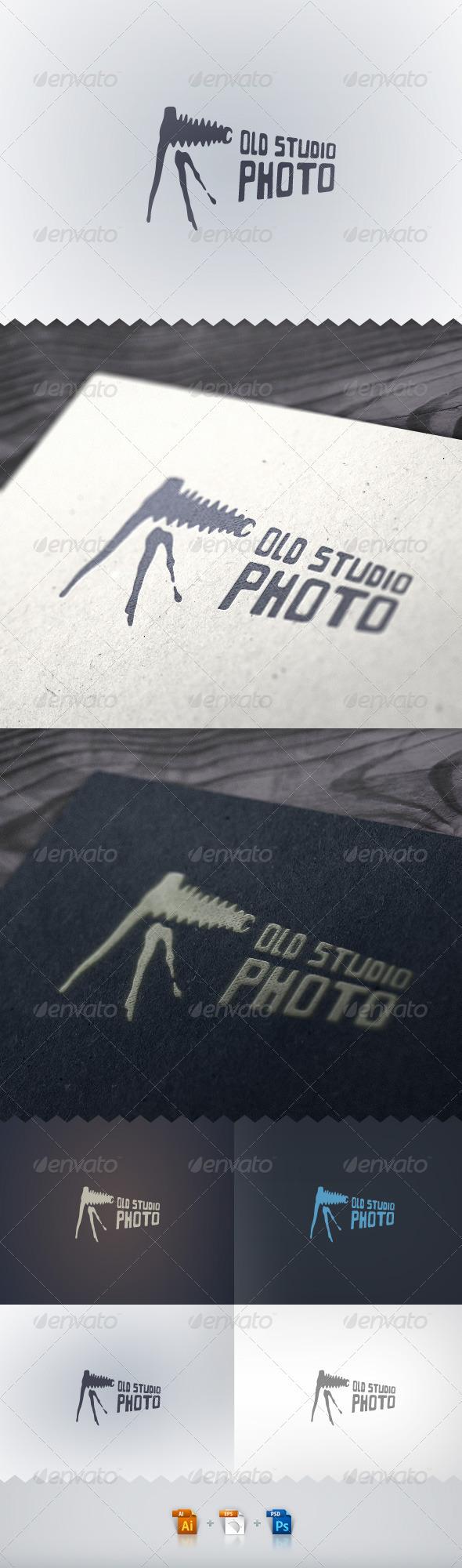 Old Studio Photo Logo