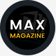 Max Magazine - News & Blog HTML Template - ThemeForest Item for Sale