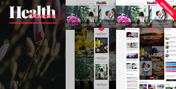 HealthMag - Multipurpose News/Magazine WordPress Theme