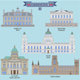 Famous Places in United Kingdom - GraphicRiver Item for Sale