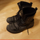 Footstep Wood Soft Hard Boots Walking Single Steps
