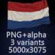 Flag of The Netherlands - 3 Variants - GraphicRiver Item for Sale