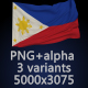 Flag of The Philippines - 3 Variants - GraphicRiver Item for Sale