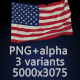 Flag of The United States - 3 Variants - GraphicRiver Item for Sale