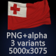 Flag of Tonga - 3 Variants - GraphicRiver Item for Sale