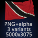 Flag of Trinidad and Tobago - 3 Variants - GraphicRiver Item for Sale