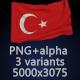 Flag of Turkey - 3 Variants - GraphicRiver Item for Sale