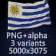 Flag of Uruguay - 3 Variants - GraphicRiver Item for Sale