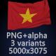Flag of Vietnam - 3 Variants - GraphicRiver Item for Sale