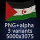 Flag of Western Sahara - 3 Variants - GraphicRiver Item for Sale
