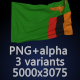 Flag of Zambia - 3 Variants - GraphicRiver Item for Sale