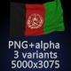 Flag of Afghanistan - 3 Variants - GraphicRiver Item for Sale