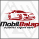 Mobil Balap - Race Car Logo - GraphicRiver Item for Sale