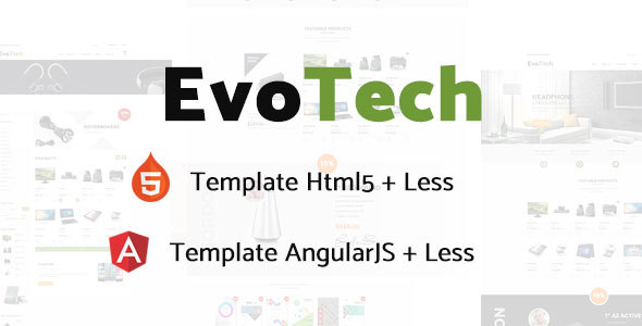 EvoTech - Electronics eCommerce HTML Template