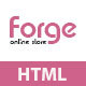Forge - Fashion Store HTML Template - ThemeForest Item for Sale