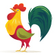 Rooster Illustration - GraphicRiver Item for Sale