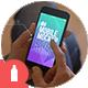 Home Mobile Mockup - GraphicRiver Item for Sale