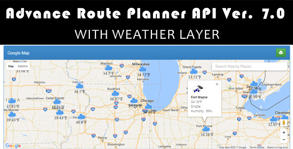 Route For Google Maps Plugins, Code & Scripts from CodeCanyon