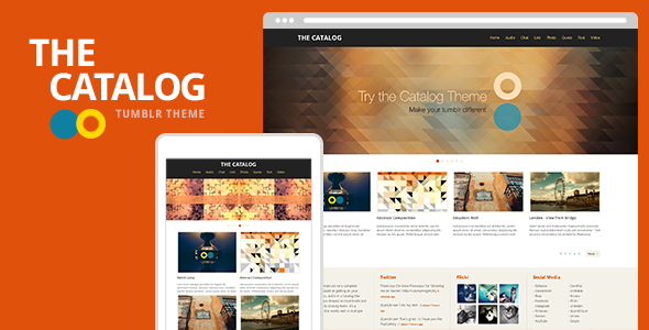 The Catalog Tumblr Theme