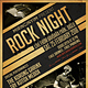 Rock Event Flyer / Poster - GraphicRiver Item for Sale